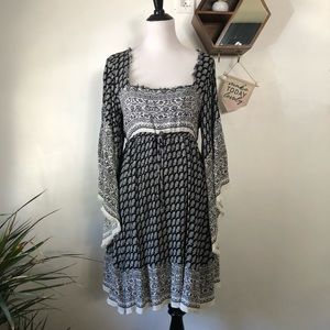 Free People Dress with Bell Sleeves